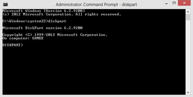 how to make a file chooser in command prompt